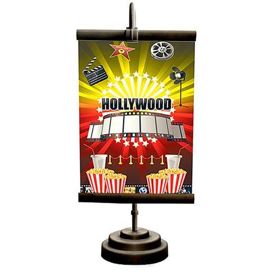 Enfeite de Mesa Banner Especial Cinema