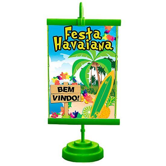 Enfeite de Mesa Banner Especial Festa Havaiana
