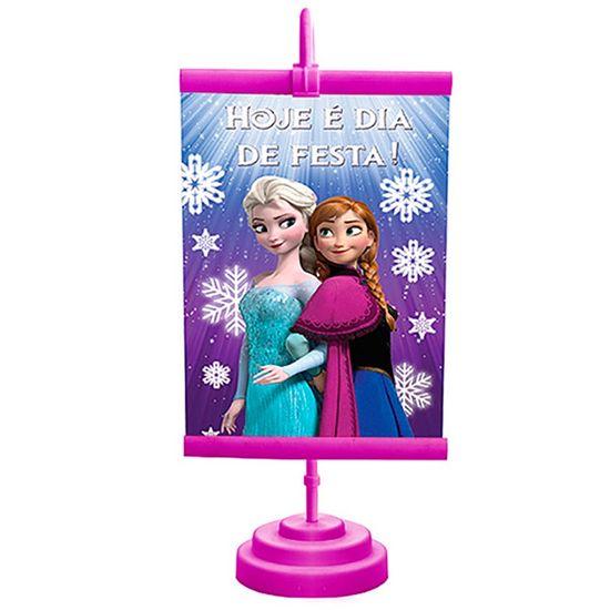 Festa Frozen Disney - Enfeite de Mesa Banner Especial Frozen Enfeite de Mesa Banner Especial Frozen