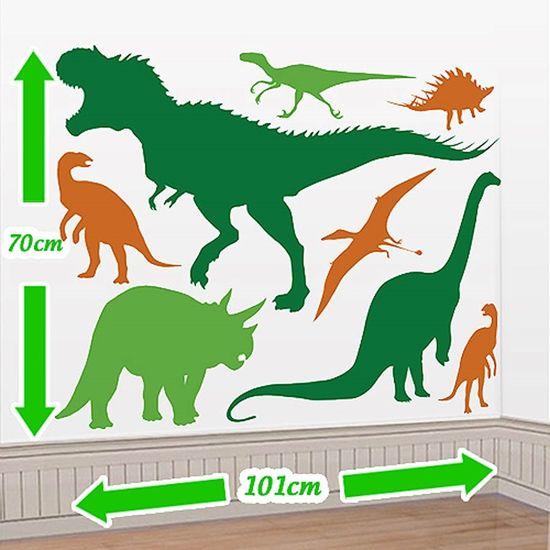 Festa Dinossauros - Cenário Adesivo Festa Dinossauros Cenário Adesivo Festa Dinossauros