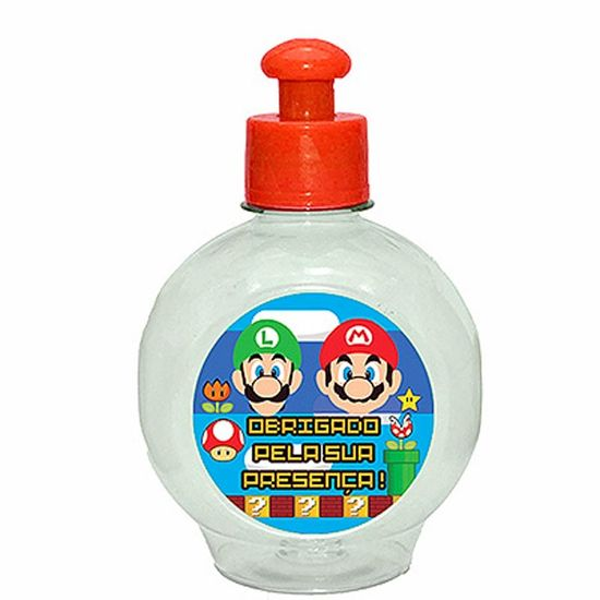 Festa Super Mario Bros - Mini Cantil Squeeze Especial 250ml - Super Mario Bros Mini Cantil Squeeze Especial 250ml - Super Mario Bros
