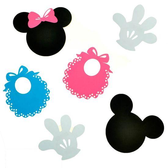 Festa Disney Baby - Aplique Artesanal Baby Disney G - 05 Unidades Aplique Artesanal Baby Disney G - 05 Unidades