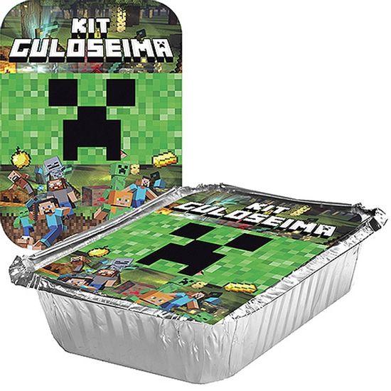 Adesivo para Marmita Grande 500ml Minecraft CREEPER - 04 Un