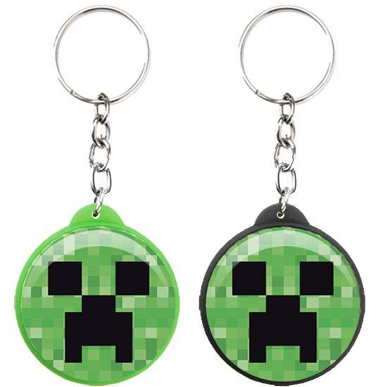 Chaveiro Plástico Especial Minecraft CREEPER