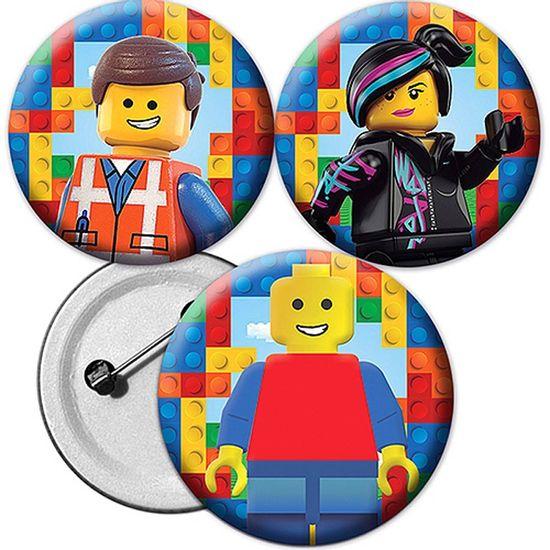 Festa Lego - Broche Especial Lego - Para Lembrancinha Broche Especial Lego - Para Lembrancinha