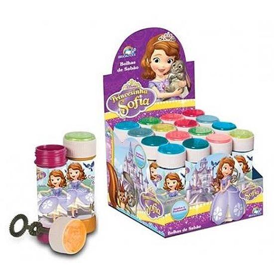 Lembrancinha Infantil - Bolinha de Sabão Princesa Sofia