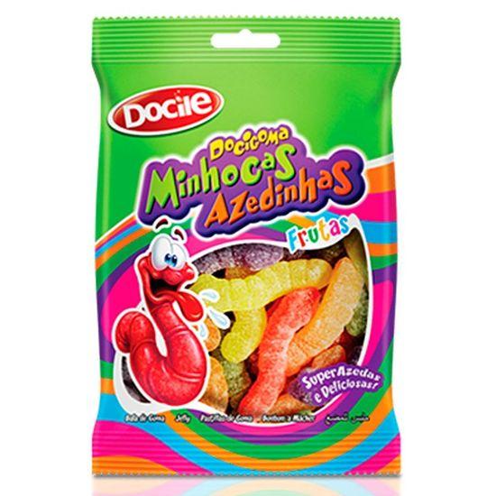 Pacote Docigoma Minhocas Azedinhas - 500g