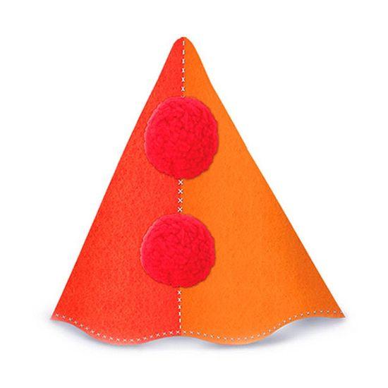 Chapéu de Aniversário Palhaço Feliz Regina 08 Un (VENDA LOJA)