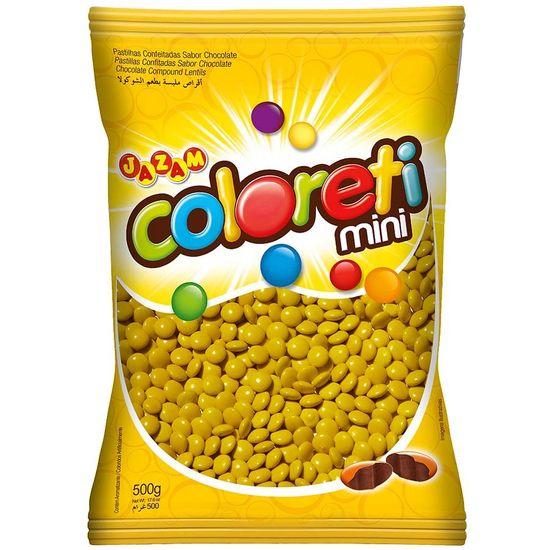 Pacote Mini Confete Coloreti Chocolate AMARELO - 300g