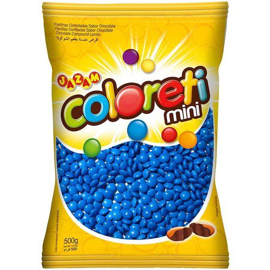 Pacote Mini Confete Coloreti Chocolate AZUL - 300g