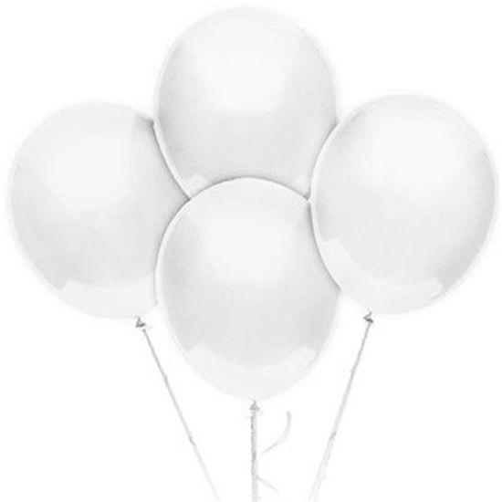 Balão TRADICIONAL nº 9 Liso Cristal - 50 Un