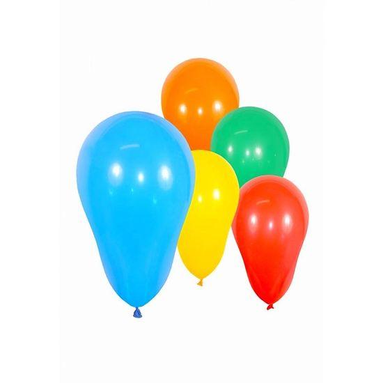 Balão Zerinho - Bexiguinha para Água Sortida 100 Un