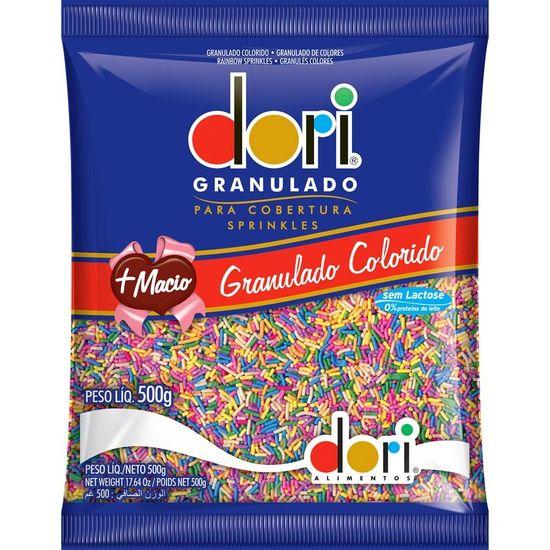 Pacote Chocolate Granulado Colorido Dori - 500g