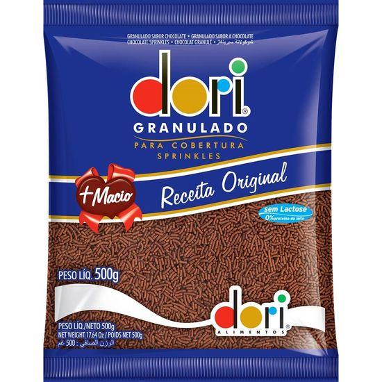 Pacote Chocolate Granulado Original Dori - 500g