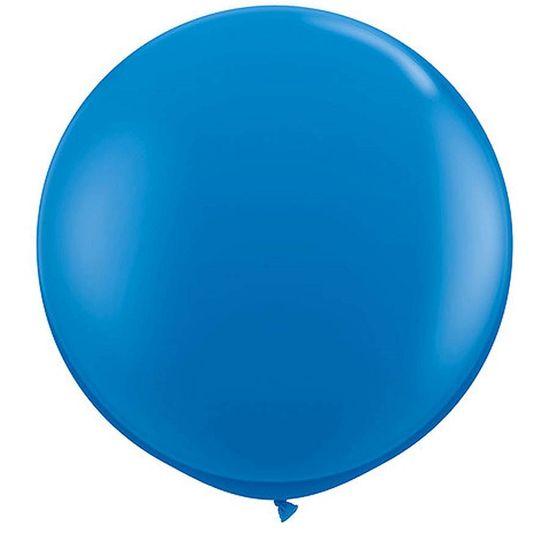 Balão Latex Gigante 91cm DARK BLUE - 02 unidades