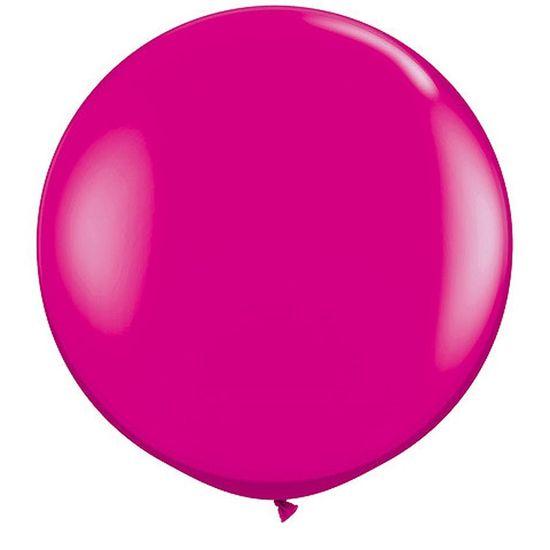 Balão Latex Gigante 91cm WILD BERRY - 02 unidades