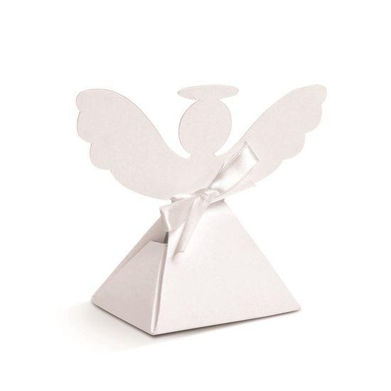 Batismo - Caixa Anjo Branco 08 Un
