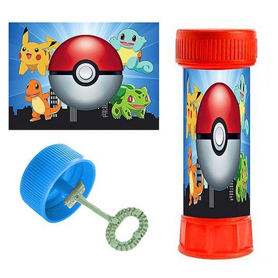 Adesivo Especial para Bolinha de Sabão Pokémon - 06 Un