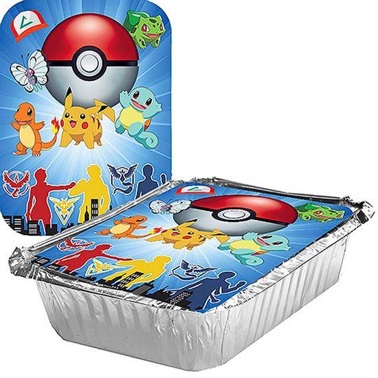 Adesivo para Marmita Grande 500ml Pokémon - 05 Un