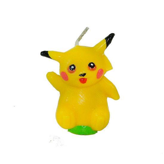 Vela Artesanal Pokémon - Pikachu
