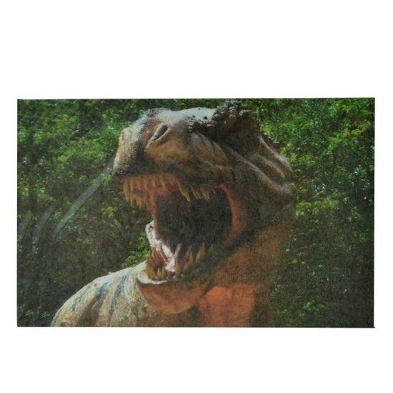 Papel Arroz para Bolo 29x21cm - Dinossauro