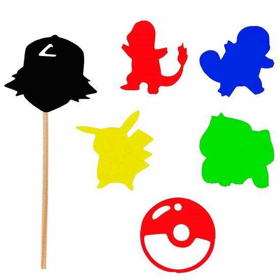 Enfeite Decorativo no Palito Pokémon M - 05 Un