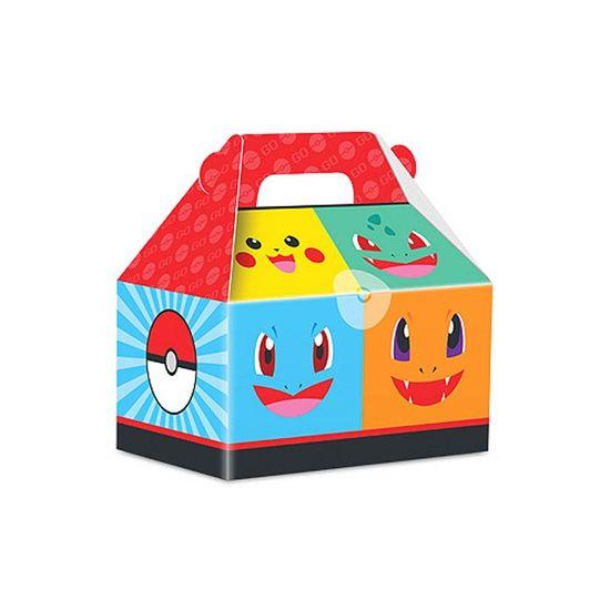 Caixa Surpresa Maleta Pocket Monsters - 08 unidades