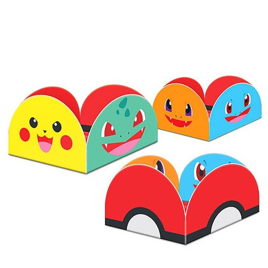 Porta-forminha Pocket Monsters - 50 Un