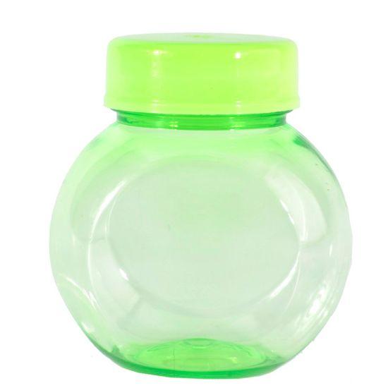 Mini Baleiro Plástico 40ml Color Verde - 10 Un
