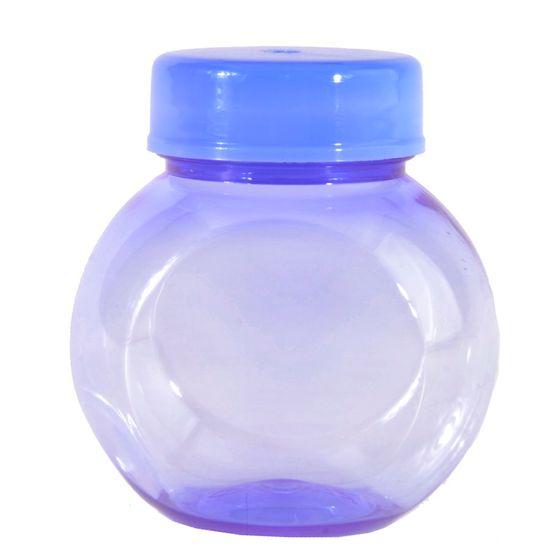 Mini Baleiro Plástico 40ml Color Lilás - 10 Un