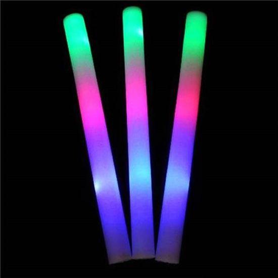 Bastão de Espuma com Led Luminoso (40cm) Colorido