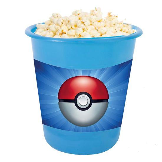 Festa Pokémon - Adesivo para Balde de Pipoca 12x8cm Pokémon POKEBOLA - 03 Un