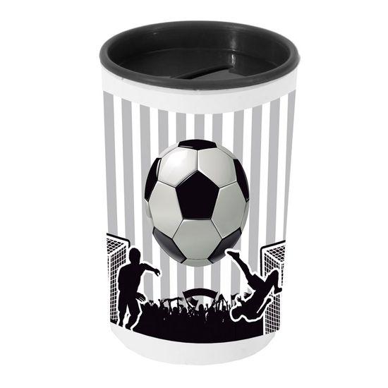 Festa Festa Futebol - Cofrinho Porta-moedas com Adesivo Futebol