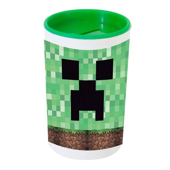 Festa Minecraft - Cofrinho Porta-moedas com Adesivo Minecraft CREEPER