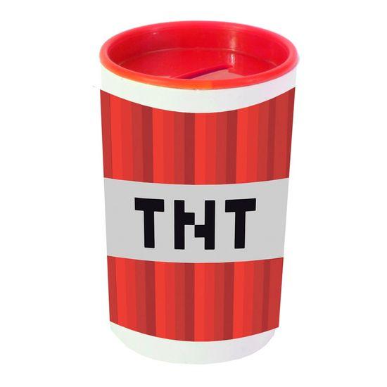 Festa Minecraft - Cofrinho Porta-moedas com Adesivo Minecraft TNT