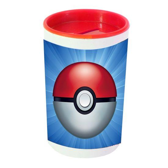 Festa Pokémon - Cofrinho Porta-moedas com Adesivo Pokémon Pokebola