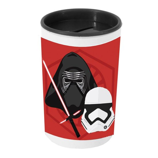 Festa Star Wars - Cofrinho Porta-moedas com Adesivo Star Wars