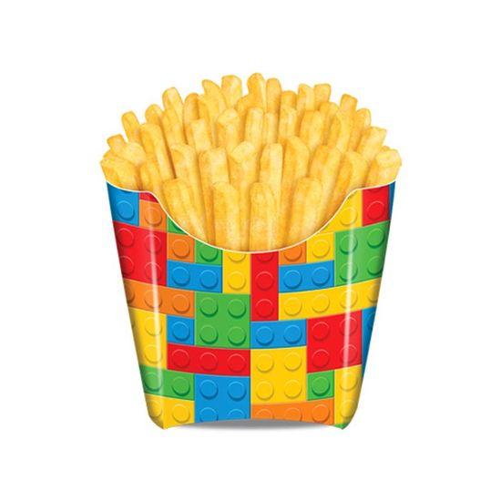 Festa Lego - Caixa para Fritas Bloquinhos - 08 Un