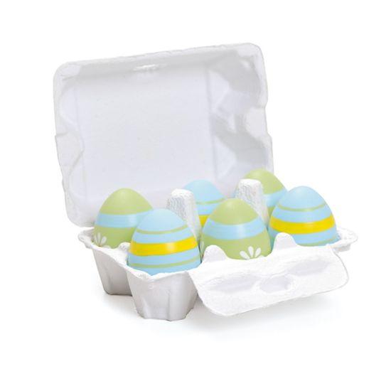 Caixa Ovosortidos 2 Verde ( Casadinho ) - 4 Jogos com 6 Peças