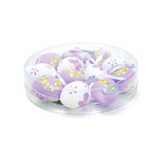 Casadinho2 Ovosortidos Branco Lílas 4 - 12 Un