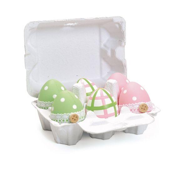 Caixa Ovosortidos 3 Verde ( Casadinho ) - 4 Jogos com 6 Peças