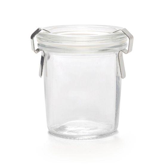 Pote Hermetico Incluso 130Ml ( Potinhos de Vidro ) - 7 2 Un