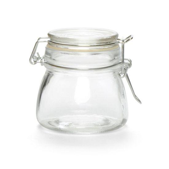 Potinhos de Vidro - Pote Tampa Hermética 150ml Transparente - 36 Un
