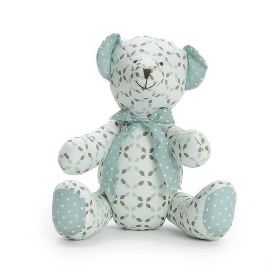 Urso Tecído Verde Tamanho Pequeno ( Sonho ) - 2 Un