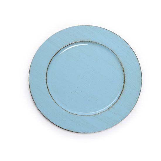 Sousplat Azul Claro ( Bandejas e Sousplats ) - 6 Un