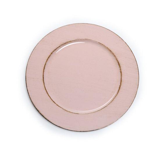 Sousplat Provencal Rosa ( Bandejas e Sousplats ) - 6 Un
