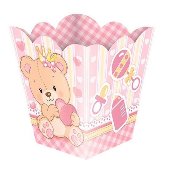 Cachepô Pequeno Baby Ursinha Menina - 08 Un
