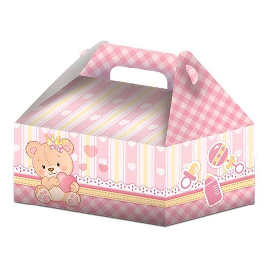 Caixa Surpresa Maleta Baby Ursinha Menina - 08 Un