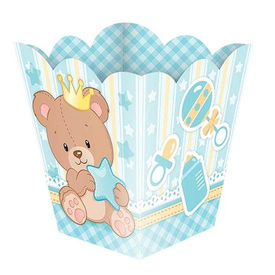 Cachepô Pequeno Baby Ursinho Menino - 08 Un