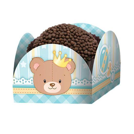 Porta-forminha Baby Ursinho Menino - 50 Un